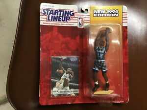 1994 SHAQUILLE O'NEAL SEALED KENNER STARTING LINEUP ORLANDO Blue Uniform