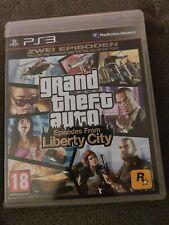 GTA episodes from Liberty City Sony PlayStation 3 juego ps3 con embalaje original, CIB