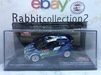 "DIE CAST "" FORD FIESTA RS WRC RALLYE MONTE CARLO 2012 SOLBERG - PATTERSON"" 1/43"