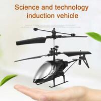 Mini Helicopter Induction Aircraft RC Drone Flash Light best Toys