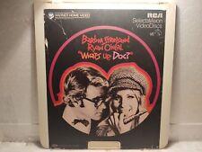 "Vintage What's Up, Doc? Warner Heim Video 12 "" Videodisc Film lp5389"