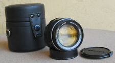 Pentax Super Takumar 50mm F1.4 Manual Focus Lens w case M42 mount Asahi Optical