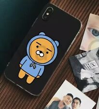 kakao friends ryan Hoodie Blue Black Iphone X Phone Case Cute