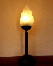 Stilarts Lampe Jugendstil Tischlampe alt antik Tischleuchte Leuchte Messing