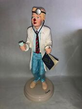 """Vintage 1987 Doctor Figurine By Judi's Pastime Collectibles Original Tag 10 3/4"""""""