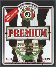 Poland Brewery Pokrówka Premium Beer Label Bieretikett Etiqueta Cerveza pk1.1