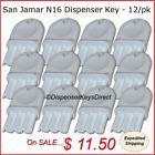San Jamar N16 Dispenser Key for Paper Towel & Toilet Tissue Dispensers (12/pk.)