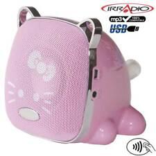 0145365 Irradio Wild Pet Diffusore portatile con Radio FM e Riproduttore Mp3 USB