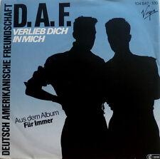 """7"""" 1982 MINT-! DAF ( DEUTSCH AMERIKANISCHE FREUNDSCHAFT ) Verlieb Dich in mich"""