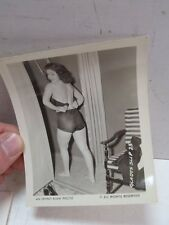 Vintage Irving Klaw Photo Gladys Slip #25 B&W Pin Up Stockings Underwear Risqué