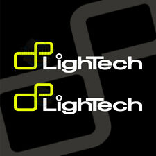 LIGHTECH LOGO DECALS **limited edition MOTOGP MOTO2 Style **NEON **FLUORESCENT