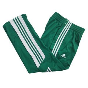 adidas WARM-UP SNAP PA Sporthose Trainingshose Pant Herren Grün AI4710
