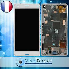 Ecran pour Sony Xperia Z3 Compact D5803 D5833 blanc vitre tactile + LCD+ châssis