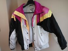 Tyrolia Womans size 12 Ski Jacket By Head Vintage 1990's Colorful Skiing Rare