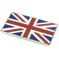 Chrome émail rouge bleu et blanc union jack emblem badge