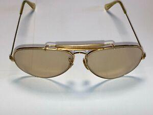 Ray Ban Sonnenbrille Gold selbstönend Vinatge inkl. etui