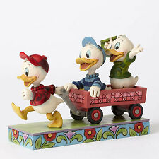 Jim Shore Disney Traditions Huey Dewey and Louie Here Comes Trouble 4054283 NEW