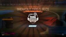 Rocket Liga PS4-Breakout Tipo S: RLCS Ventilador recompensa Calcomanía limitada