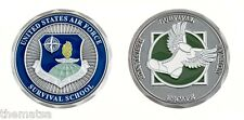 AIR FORCE SURVIVAL SCHOOL SURVIVAL ESCAPE EVASION RESISTANCE  CHALLENGE COIN