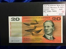 1967 Australian Twenty Dollar Notes Coombs/Randall   Au