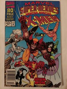 MARVEL SUPER HEROES WINTER SPECIAL #8 1ST SQUIRREL GIRL   NEWSSTAND   1991