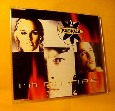 MAXI Single CD 2 FABIOLA I'm On fire 6TR 1996 eurodance