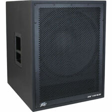 "Peavey DM 118 SUB Pro Audio DJ Dark Matter 18"" Powered 800W Peak Sub Subwoofer"