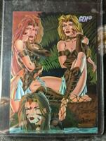 1995 Wildstorm GEN13 Chromium - Card #9 Island Coda