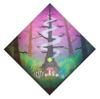"PARS ""Forest Magic"" Original Painting Mushrooms PNW Aerosol Street Art Graffiti"