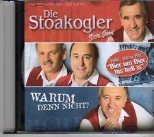 (BM272) Die Stoakogler, Warem Denn Nicht? - 2007 DJ CD