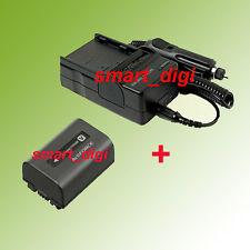 NP-FV70 Li-ion Battery + Charger for Sony Handycam HDR-PJ50 HDR-PJ200 HDR-PJ580V