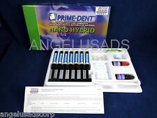 Dental Nano Hybrid Composite Kit /7 Syringe PRIME DENT