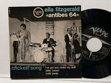 ELLA FITZGERALD Antibes 64 Crickett song 70097
