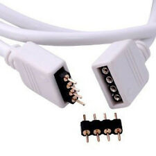 5m Extension Connect Cable 16.4ft 4-pin Plug for LED 3528 5050 RGB Strip Light