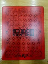 Red Dead Redemption 2 Ultimate edition SteelBook metal game case only NO GAME