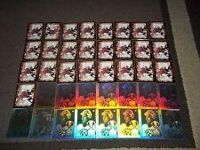 Lot of 40 Ed Belfour cards- Chicago Blackhawks- Oddball gold border & UD insert