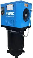 Hpdmc 75 Kw 230v60hz3 Phase Rotary Screw Air Compressor 60 Gallon Air Tank