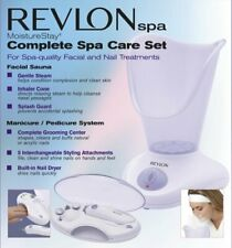 NEW Revlon Spa-MoistureStay-Complete Spa Care-Facial Sauna,Manicure/Pedicure Set