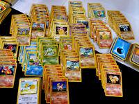 Pokemon TCG Base Set Lot Over 275 Common Uncommon Rares Pikachu