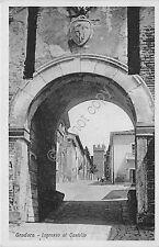 Cartolina - Postcard - Gradara - Ingresso al castello - Dalla Nogara e Armetti