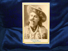 "Wlliam F. Cody ""Buffalo Bill"" Cabinet Card Photograph Reprint Old West CDV 1"