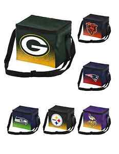 NFL Football Team Logo Gradient 6 Pack Cooler Tote - Pick Your Team!