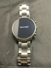 Fossil(Gen 4) Explorist HR Smartwatch 45mm Stainless Steel