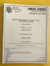 Indian Summer, as recorded by Glenn Miller, arr. Joe Prince, Big Band + Solo Voc