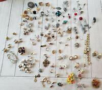 Vtg Lot of Costume Jewelry, Trifari, Coro, Nicole Miller, and incredible florals