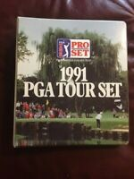1991 PGA Tour Set with Legendary Golfers Of The 90S  great set in binder