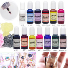 12pcs Resina Epossidica Epoxy farbe UV Colore Pigmento Arte per Gioielli DIY