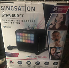 singsation karaoke - all in one (Star Burst) Bluetooth