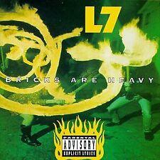 BRICKS ARE HEAVY L7 CD