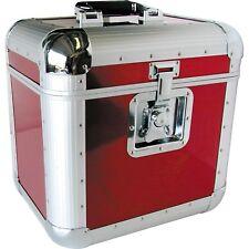 LP Record Vinyl Carrying Holder Storage Tote Case Eurolite LP-70 Red New